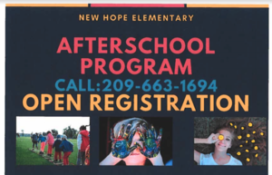 NHE AfterSchool Program Registration